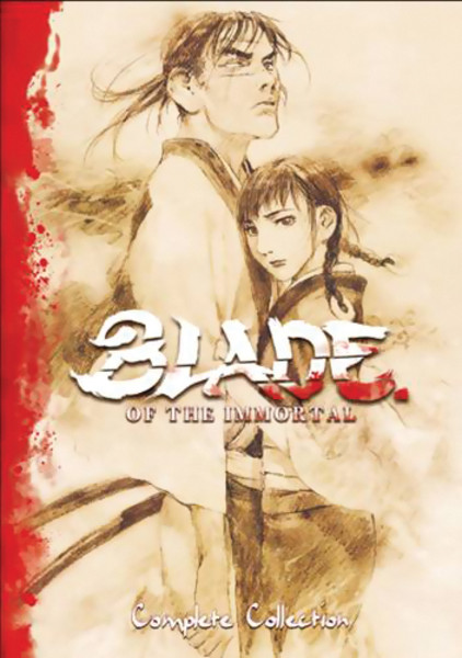 Blade of the Immortal Complete Collection DVD Litebox