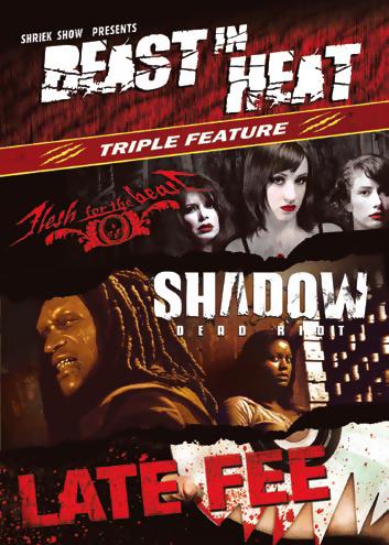 Beast in Heat Triple Feature DVD 631595110791