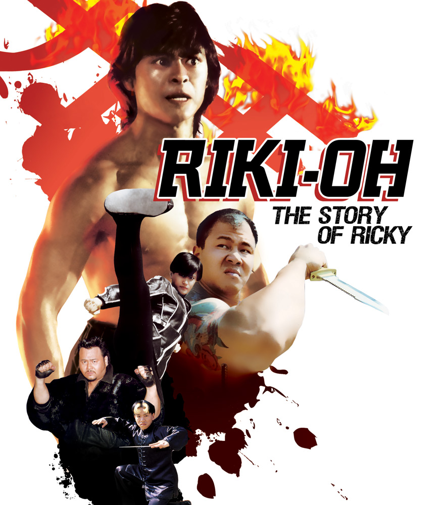 Riki Oh Story of Ricky Blu-ray 631595111989