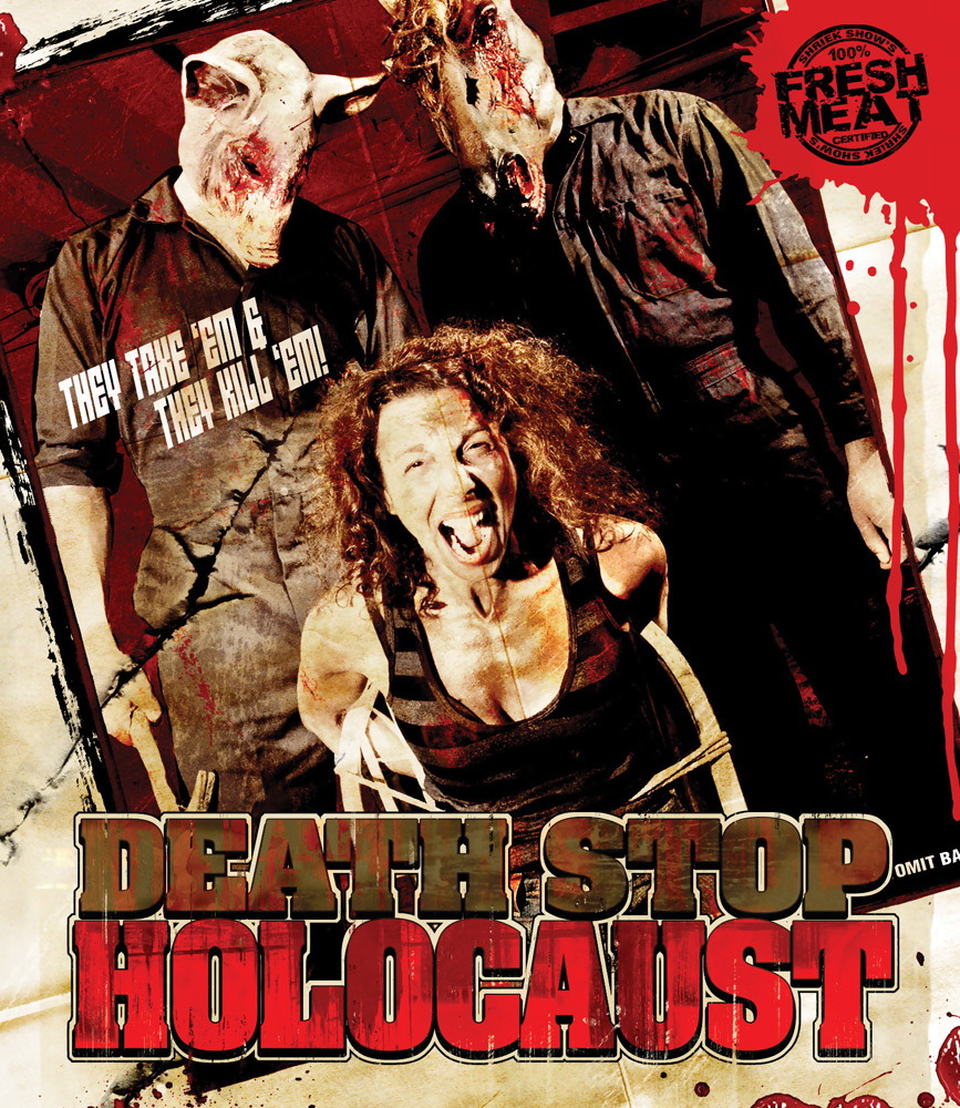 Death Stop Holocaust Blu-ray 631595120493
