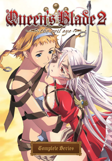 Queen's Blade 2 The Evil Eye Complete Collection DVD 631595121278