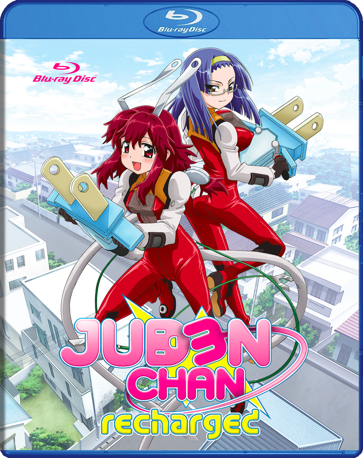 Juden Chan Recharged Blu-ray 631595160178