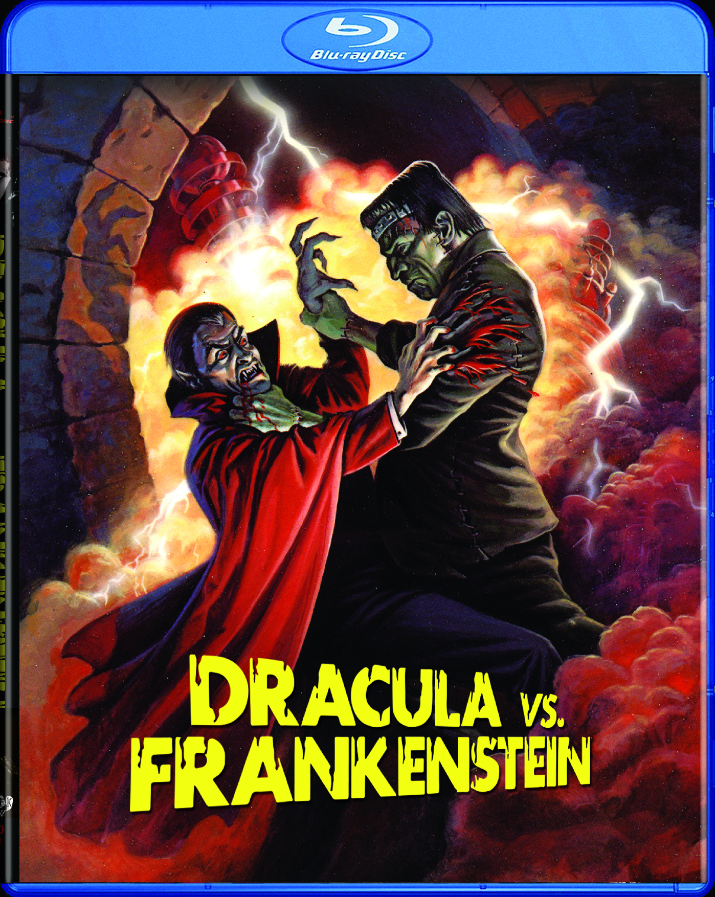 Dracula vs Frankenstein Blu-ray 631595160987
