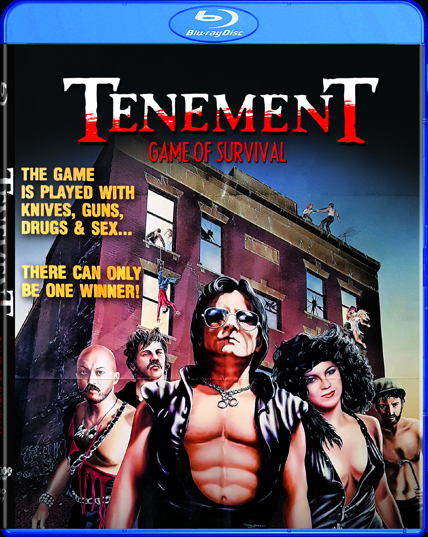 Tenement Game of Survival Blu-ray 631595170481