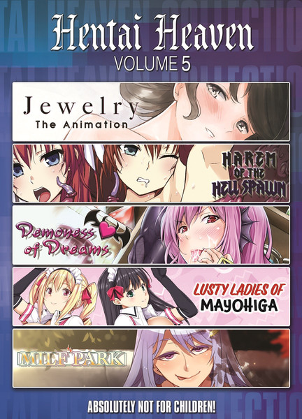 Hentai Heaven Collection 5 DVD
