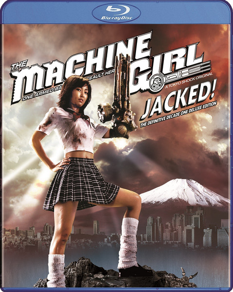 The Machine Girl: Jacked! The Definitive Decade One Deluxe Edition Blu-ray/DVD