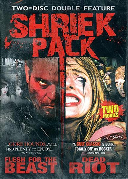 Shriek Pack Double Feature DVD