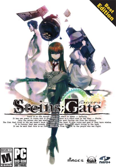 Steins;Gate Best Edition DVD-ROM Game (Windows)