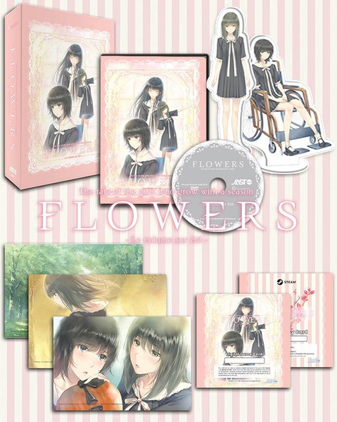 Flowers Le volume sur ete DVD-ROM Game