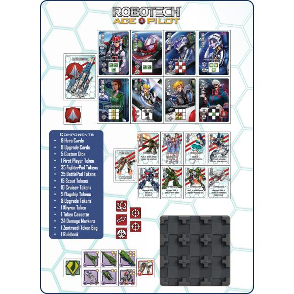 Robotech Ace Pilot Card Game