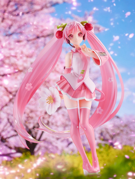 Hatsune Miku Cherry Blossom 2021 Ver Prize Figure