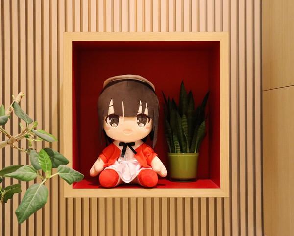 Megumi Kato Saekano Big Plush