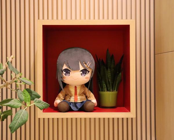 Mai Sakurajima Rascal Does Not Dream of Bunny Girl Senpai Big Plush