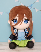 Miku Nakano The Quintessential Quintuplets Big Plush