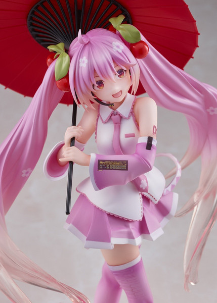 Sakura Miku Japanese Umbrella 2nd Season Ver Vocaloid Figure
