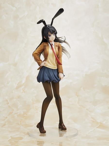 Mai Sakurajima Uniform Bunny Ver Rascal Does Not Dream of Bunny Girl Senpai Prize Figure