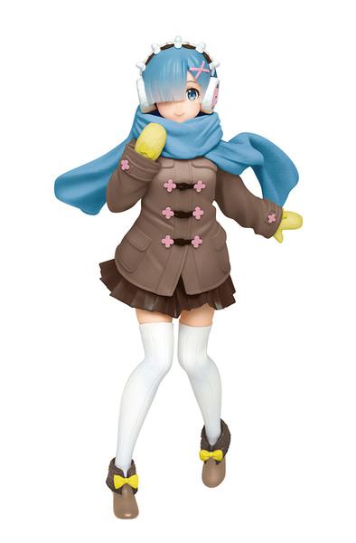 Rem Winter Coat Recolored Ver Re:ZERO Prize Figure