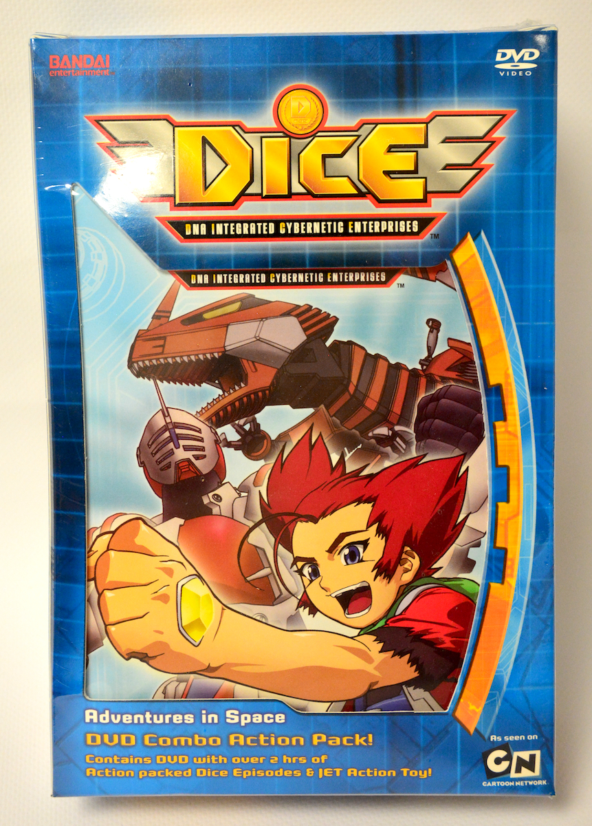DICE DVD 1 + Action Figure 669198207204