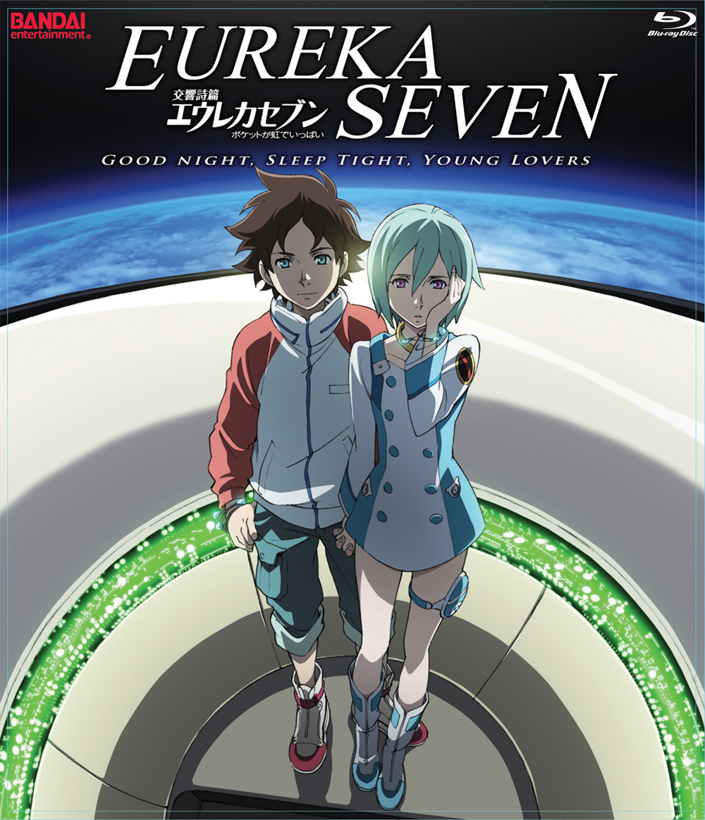 Eureka Seven Movie: Good Night, Sleep Tight, Young Lovers Blu-ray 669198263163