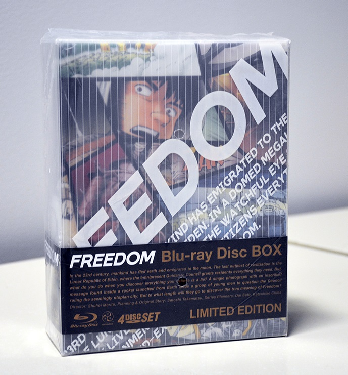 Freedom Special Edition Blu-ray Box Set 669198620003