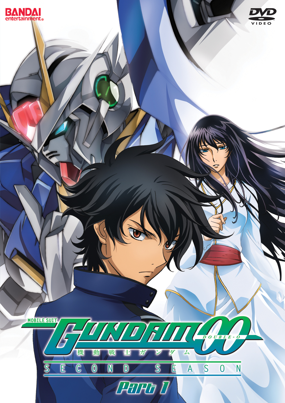 Mobile Suit Gundam 00 Season 2 Part 1 DVD 669198804311