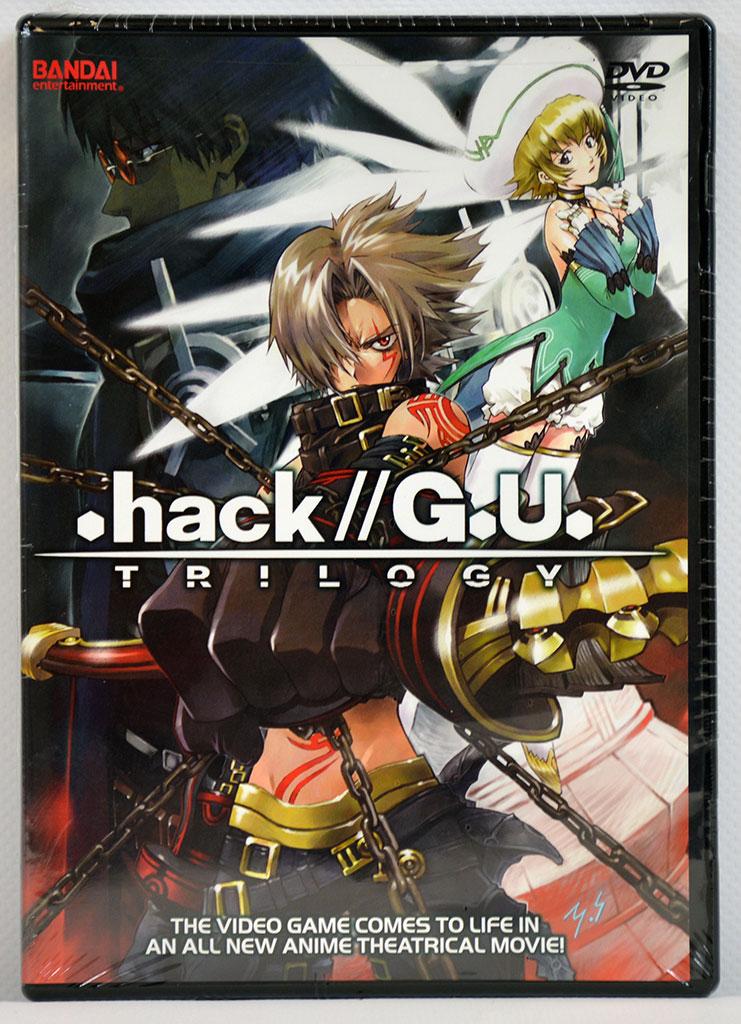 .hack//G.U. Trilogy Movie DVD
