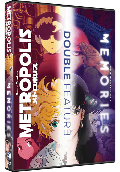 Metropolis & Memories Double Feature DVD