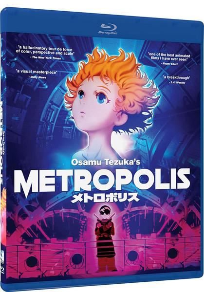 Metropolis Blu-ray
