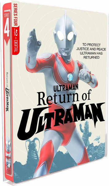 Return of Ultraman Steelbook Blu-ray