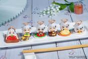 Paimon is NOT EMERGENCY FOOD! Paimon Mascot Genshin Impact Figure Set (6 Pieces)