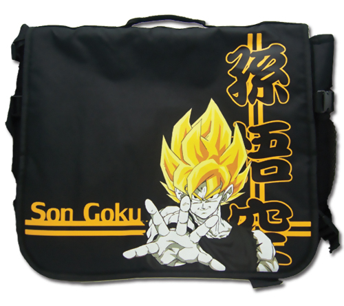 Dragon Ball Z Messenger Bag: Super Saiyan Son Goku 699858110544