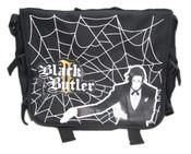 Claude with Spiderweb Black Butler Messenger Bag