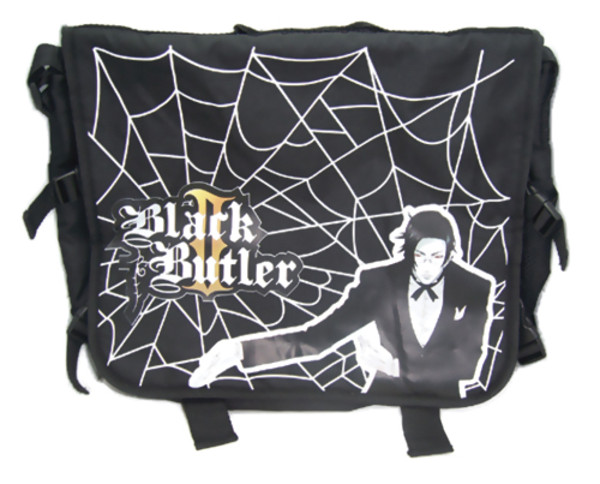 Claude with Spiderweb Black Butler Messenger Bag
