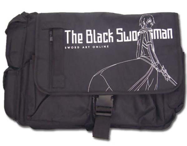 Sword Art Online Messenger Bag Black Swordsman Kirito Outline