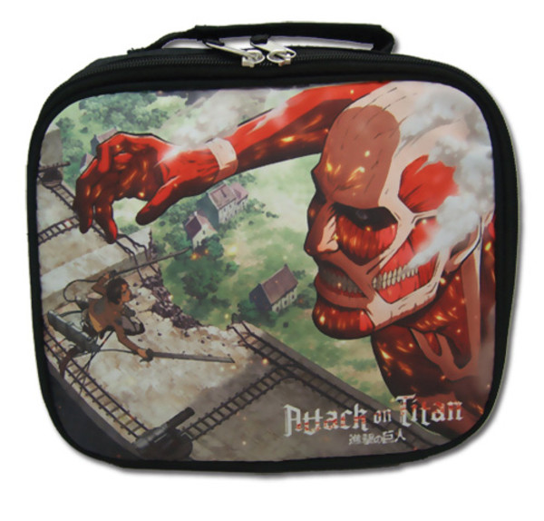 Eren Vs Colossal Titan Attack on Titan Lunch Bag