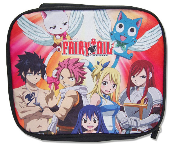 Group Fairy Tail Lunch Bag