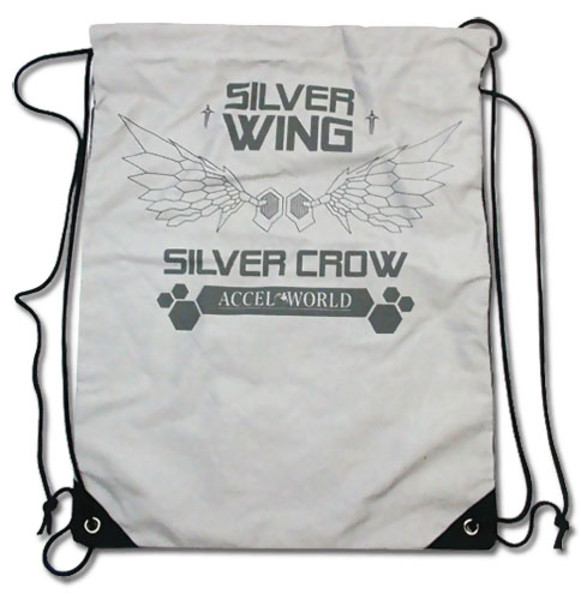 Silver Wing Accel World Drawstring Bag
