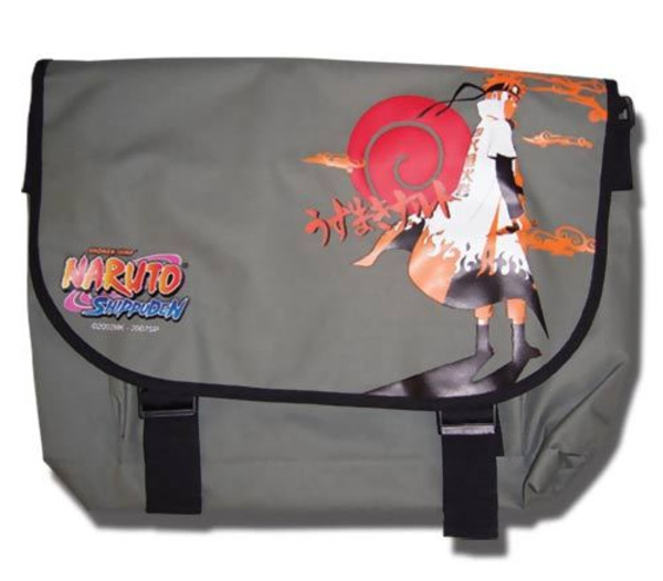 Naruto in Yondaime's Coat Naruto Shippuden Messenger Bag