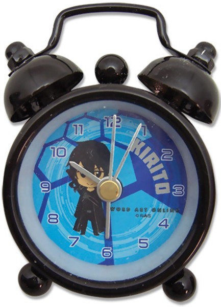 Sword Art Online Mini Desk Clock SD Kirito (2.5 in)