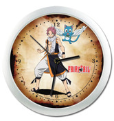 Natsu Dragneel and Happy Fairy Tail Wall Clock