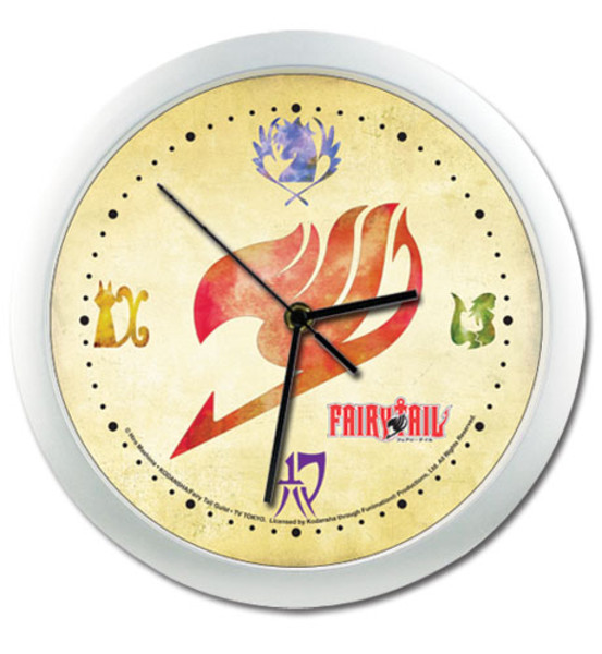 Guilds Fairy Tail Wall Clock