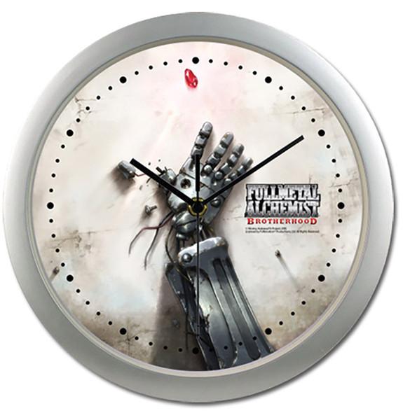 Ed's Automail Hand Fullmetal Alchemist Brotherhood Clock