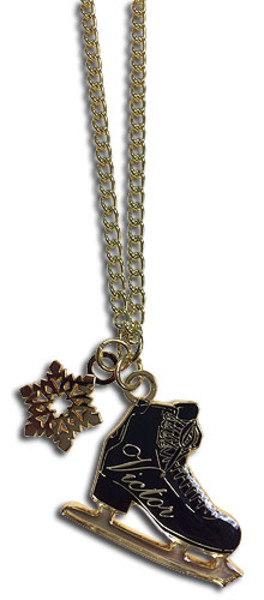 Victor's Ice Skate Yuri!!! On ICE Necklace