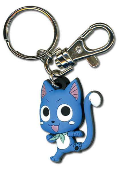 Happy Fairy Tail PVC Keychain