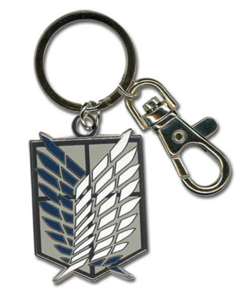 Scouting Legion Emblem Attack on Titan Keychain