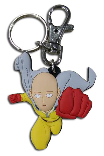Saitama One-Punch Man Keychain 699858372508