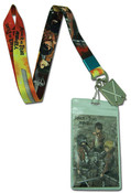 Group and Sword Attack on Titan Lanyard