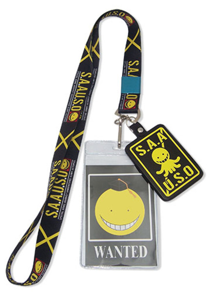 S.A.A.U.S.O. Assassination Classroom Lanyard