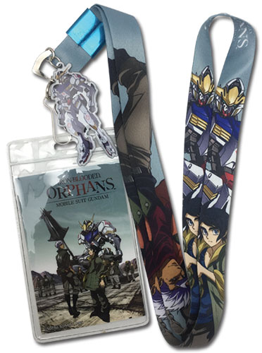 Orga Mikazuki and Barbatos Mobile Suit Gundam Iron-Blooded Orphans Lanyard 699858378371