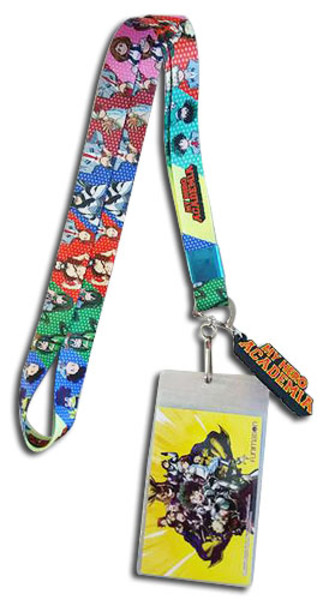 Costume Change My Hero Academia Lanyard